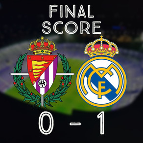 Another single-goal loss to Real Madrid roots Pucela in the basement