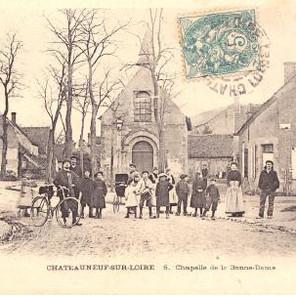 Pèlerinages de Notre-Dame de l'Epinoy à Châteauneuf-sur-Loire (1875)