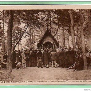 Pèlerinage à Notre-Dame-des-Trays à la Ferté-Saint-Aubin