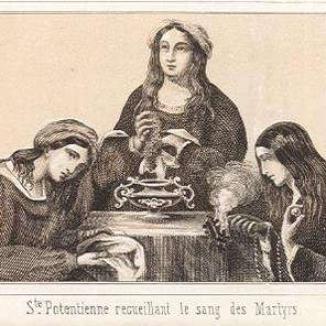 Sainte Potentienne à Chatillon-sur-Loing (Chatillon-Coligny)
