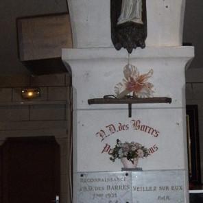 Notre Dame des Barres à Boigny