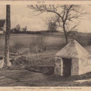 Pèlerinage de Sainte Radegonde à Chambon (1877)