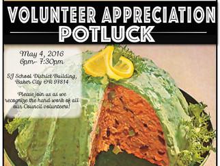 Volunteer Appreciation Potluck