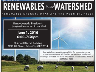 Renewable Energy in the Watershed