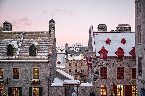 Les toits du Vieux Québec