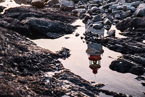 Reflet sur le phare