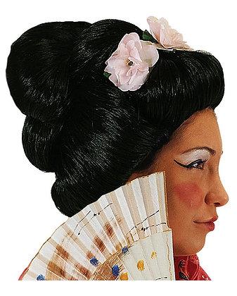 аренда костюмов японки парик гейша японская вечеринка