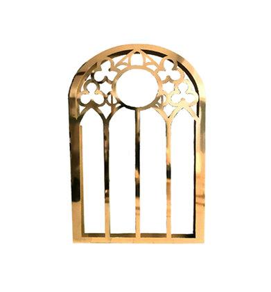 Золотое окно декорация