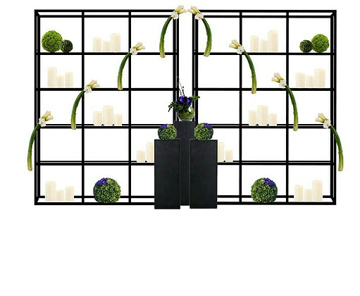 аренда фотозон аренда декора  черные подиумы черные стеллы черные колонны черные стеллажи минимализм декор для сьемок