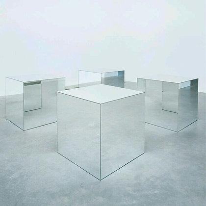 зеркальный подиум куб зеркальный большой аренда
