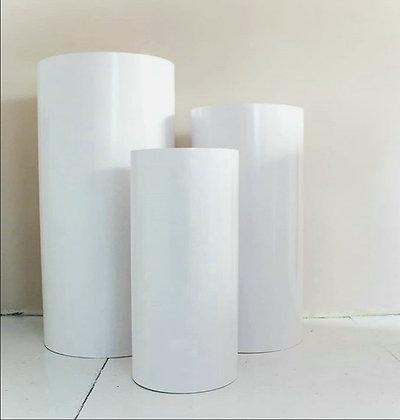 Колонны круглые цилиндры(тубусы)
