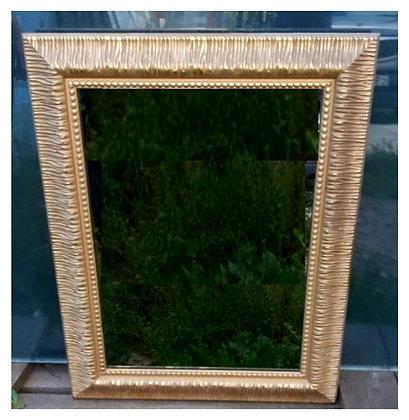Зеркало в  золотой раме 670*520мм