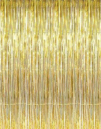 золотой занавес дождь аренда фотозона золото