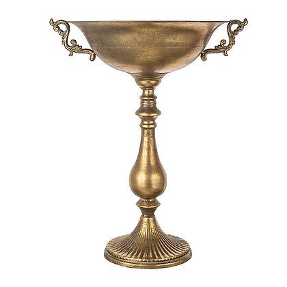 вазон высокий чаша золотая кубок аренда аренда  больших вазонов