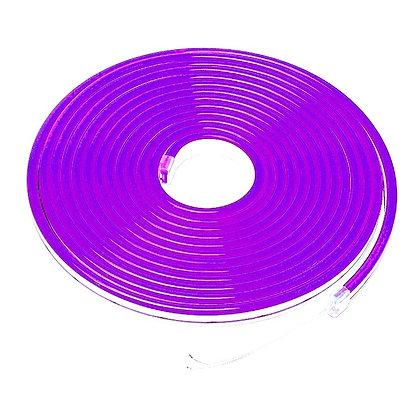 Неоновый шнур фиолетовый 5м