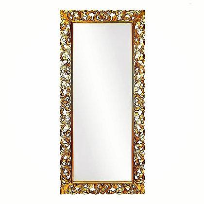 Зеркало большое напольное в резной раме