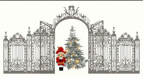"""Фотозона новогодняя """"Двери в Рождество"""""""