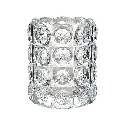 Подсвечник хрустальный кристалл 8см