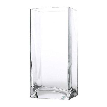 ваза прозрачная квадрат 22 см аренда
