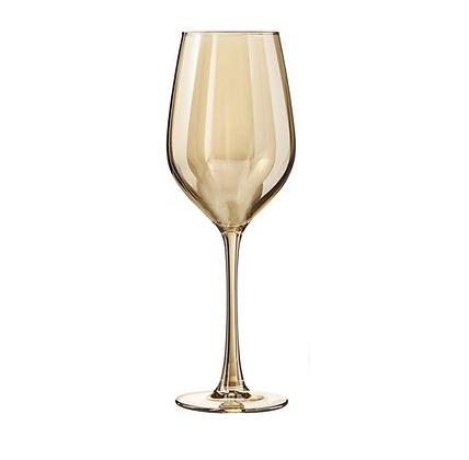 Бокал для вина золотой хамелеон