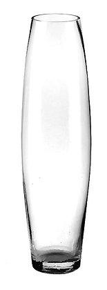 ваза прозрачная 70см