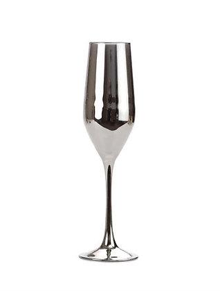 Бокал для шампанского  хром