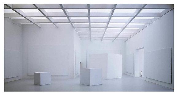 Куб белый матовый 40см