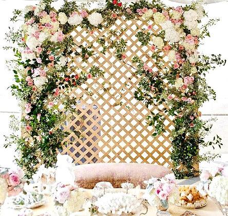 аренда свадебной ширмы