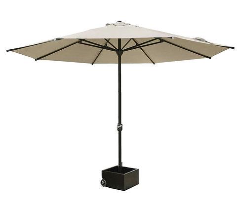 Зонт садовый с кашпо для цветов аренда