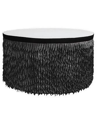 банкетный текстиль юбка банкетная черные скатерти аренда  текстиля черные юбки на столы
