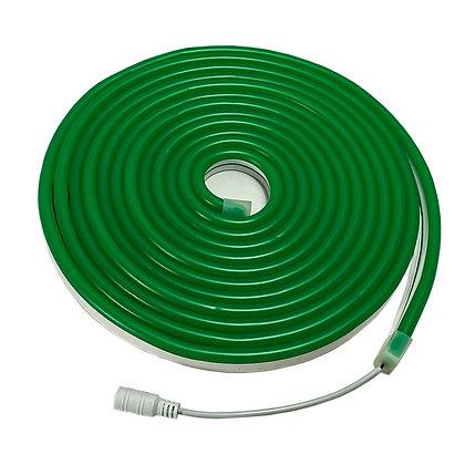 Неоновый шнур зелёный 5м