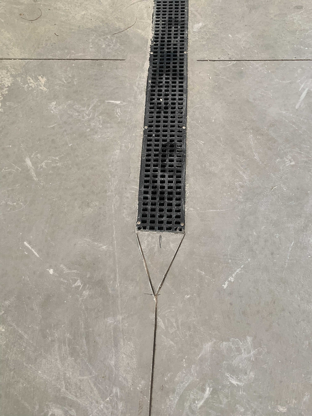 concrete zip strip