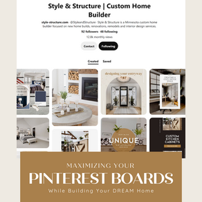 Maximizing Your Pinterest Board While Designing Your Dream Home