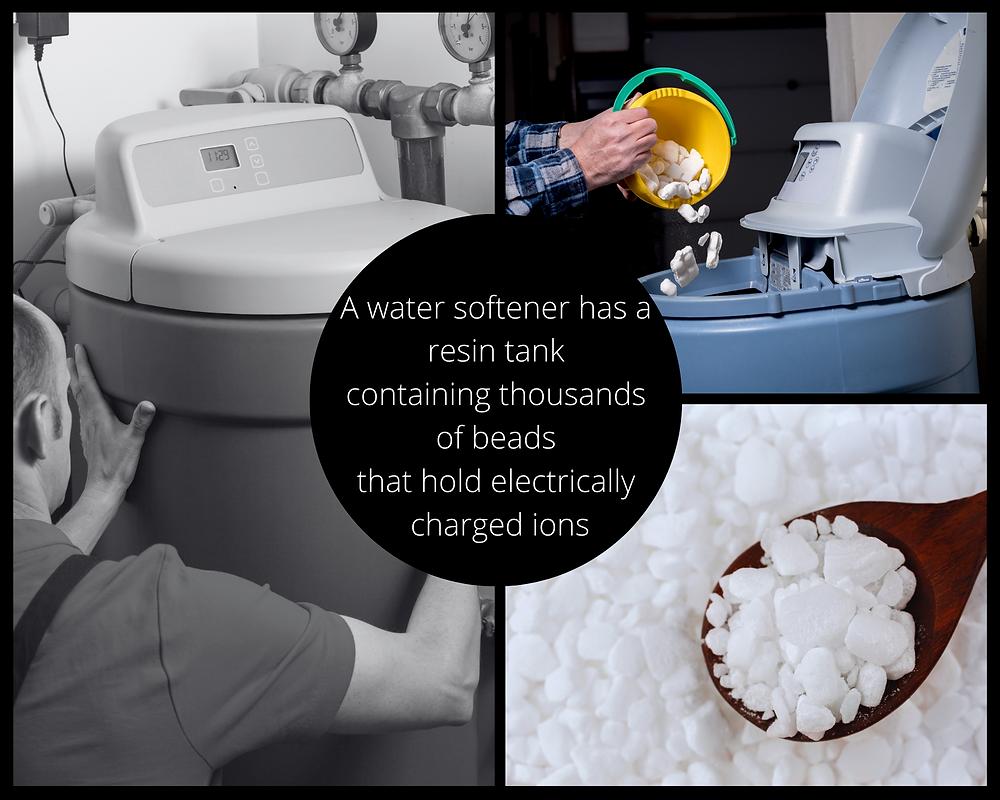 water softener salt beads