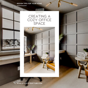 Creating A Cozy Office Space: