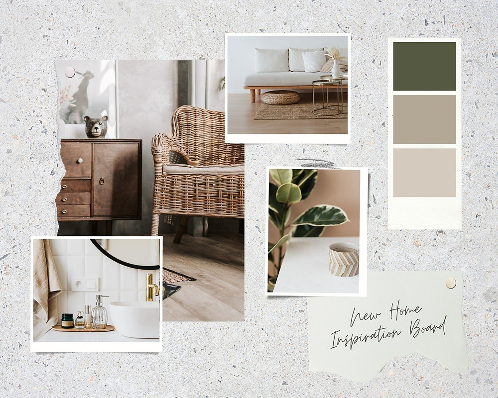 Neutral Home Inspiration Board