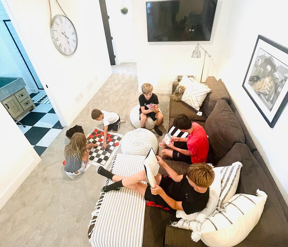 kids loft kids playing games