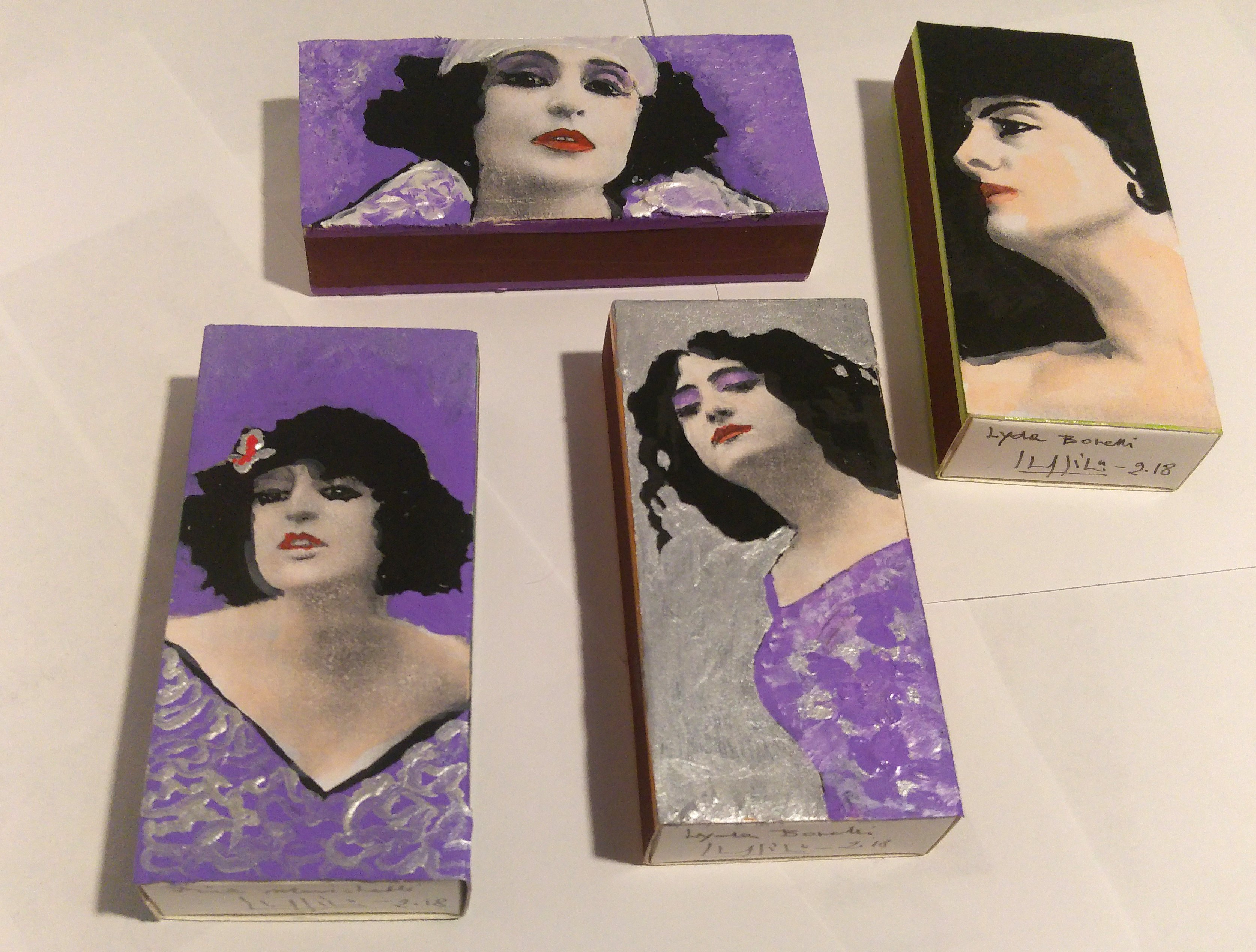 FOUR MATCHBOXES