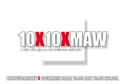 Cartolina 10x10xMAW