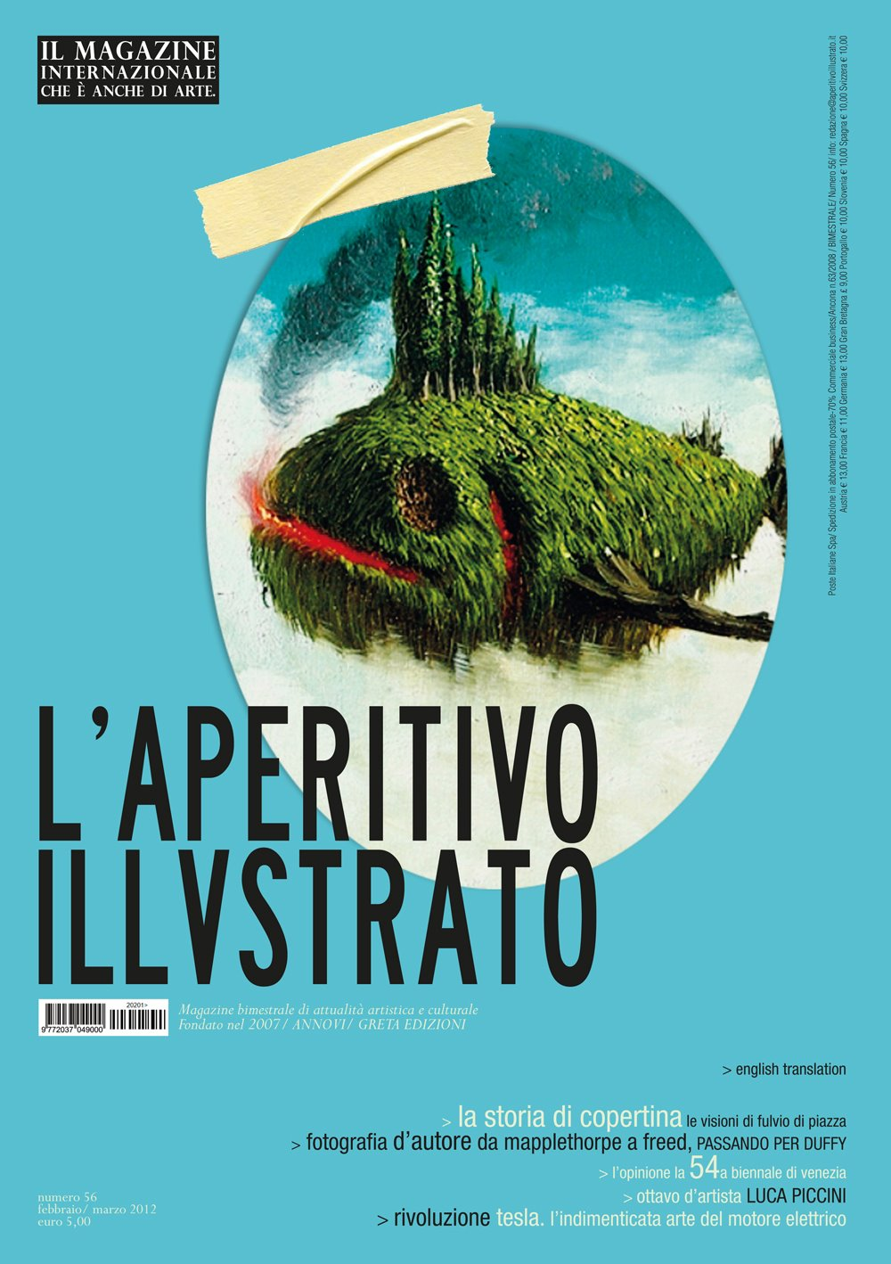 Aperitivo Illustrato / Cover