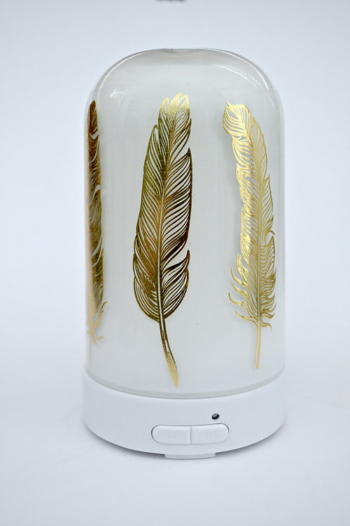Sonic Diffuser ~ White Gold Feather
