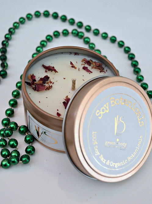 Soy Botanicals ~ Rose Gold Tin