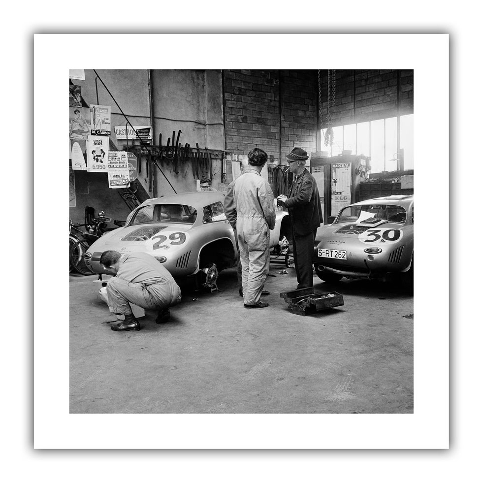 Behind the Scenes - Le Mans 1963