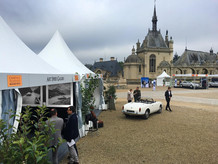 Exhibition at Chantilly Arts & Elegance - France 2017