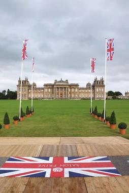 Exhibition at Salon Privé - Concours d'Elégance Bleinheim Palace – UK 2015 (birthplace and ancestral home of Sir Winston Churchill)