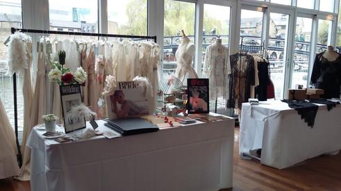 Bridal show at the Holiday Inn, Camden  Lock