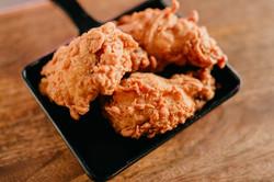 Alitas de pollo al estilo kentucky