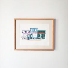 Affiche Shops ameliebroddes©