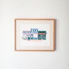 Affiche Shops