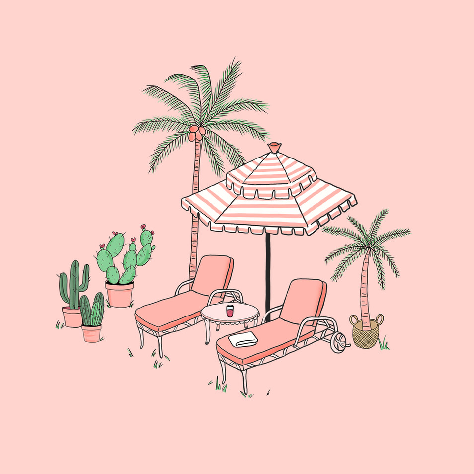 Palms Spring Serie #4